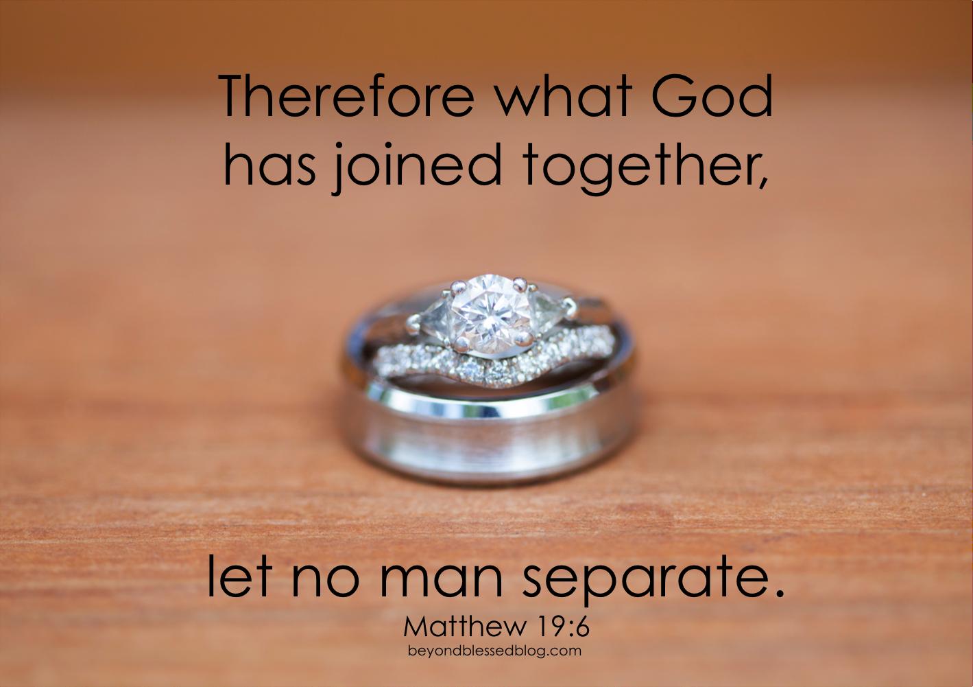 Matthew19-6 BBB - beyond blessed