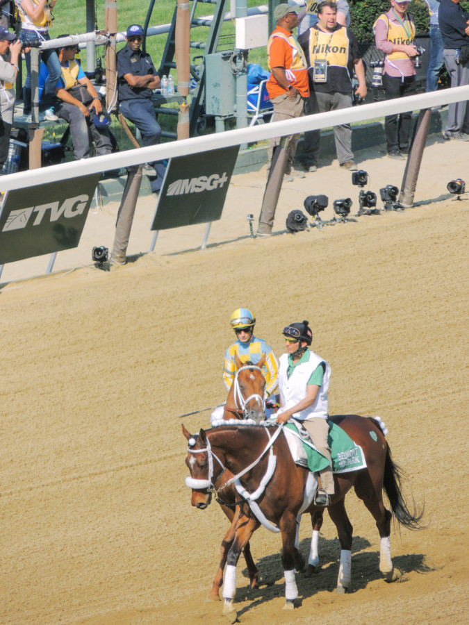 Belmont Stakes beyond blessed-26