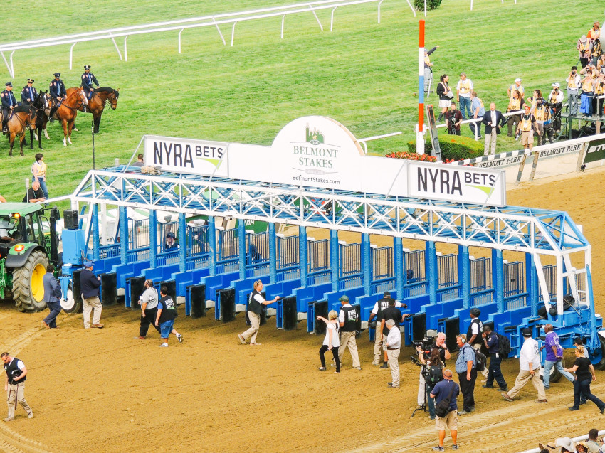 Belmont Stakes beyond blessed-42