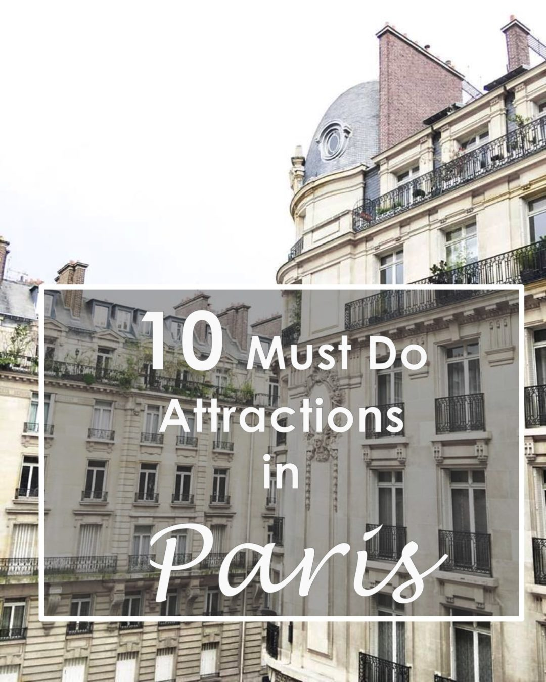 paris is considered the city of love and lights for a reason to say it is magical would be an understatement there is so much to see - Paris Must See
