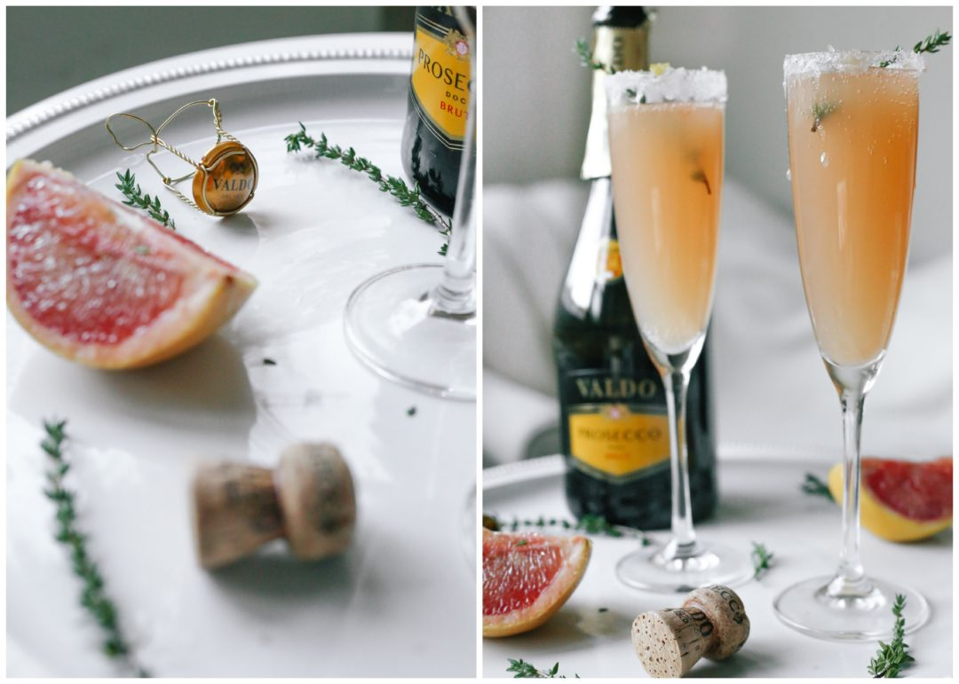 perfect sparkling drinks for the holidays